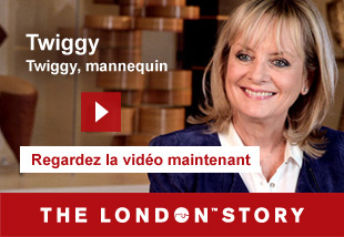 Twiggy, Model, Actress and Designer   Regardlez la vidèo maintenant. The London Story.