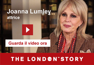 Joanna Lumley, Actress   Guarda il video ora. The London Story.