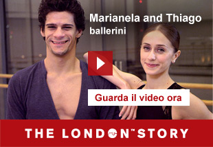 Marianela and Thiago, Dancers   Guarda il video ora. The London Story.