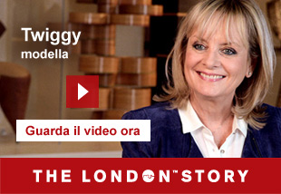 Twiggy, Model, Actress and Designer   Guarda il video ora. The London Story.