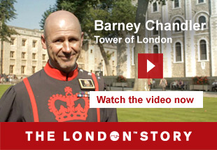 Barney Chandler, Tower of London. Watch the video now. The London Story.