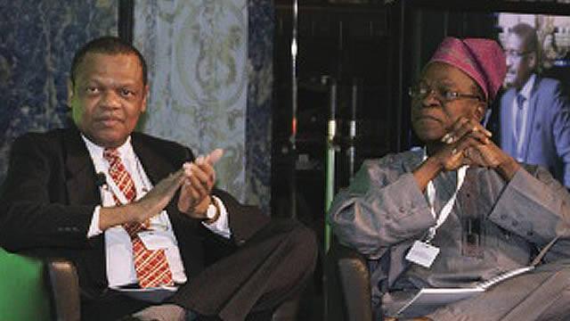 Speakers at Nigeria House