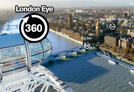 360° panorama of London