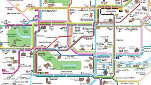 free london guide bus map