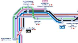 free london guide thames river map
