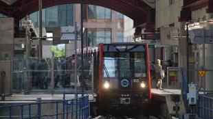 free london guide DLR map