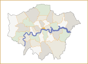 Kitchen is in West Brompton, West London