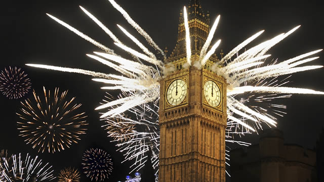 new year where to see free fireworks in london