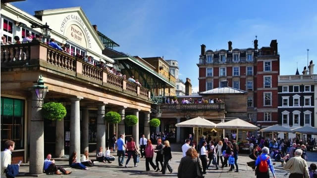 Itin raire pour une premi re visite londres que faire for Cafe du jardin restaurant covent garden