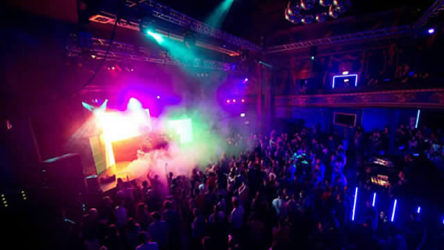 An image of the inside of the Electric Brixton venue during a live show.