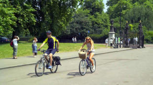 free london guide bicycle map