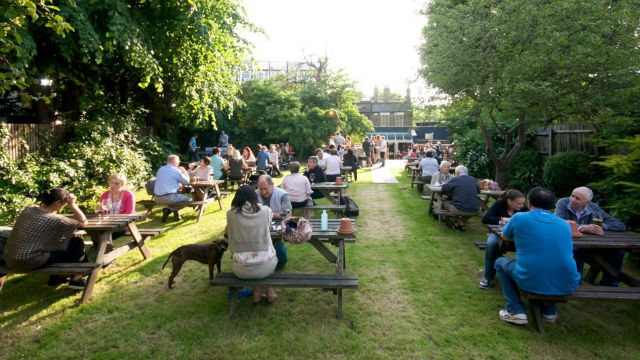 Image result for beer garden