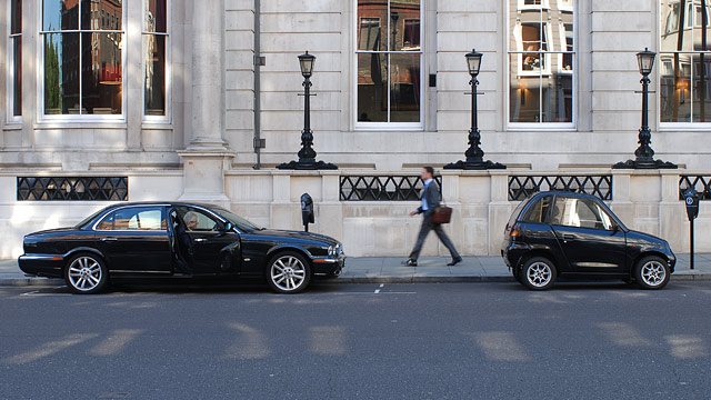 Car Parking Near Oxford Street
