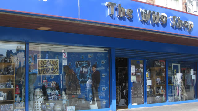 Doctor who store london england