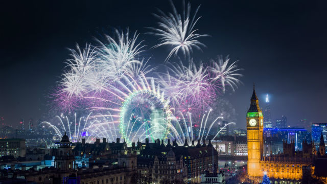 London New Year's Eve ...