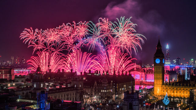 Hotels With View Of New Year Fireworks London