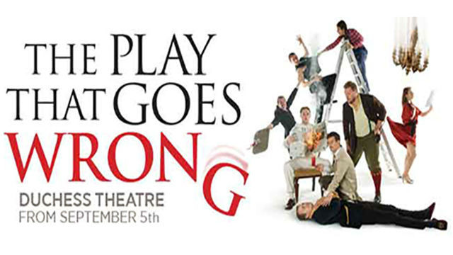 The play that goes wrong at the duchess theatre for What s playing at the terrace theater