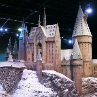 Hogwarts-In-Snow