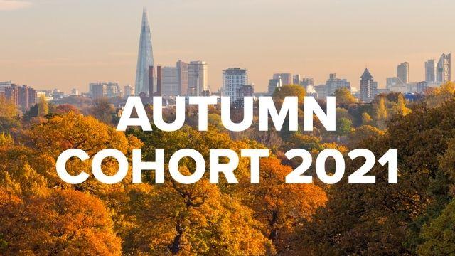 Autumn cohort 2021 header image.