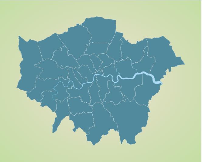London borough map