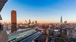 View across London from Tate Modern