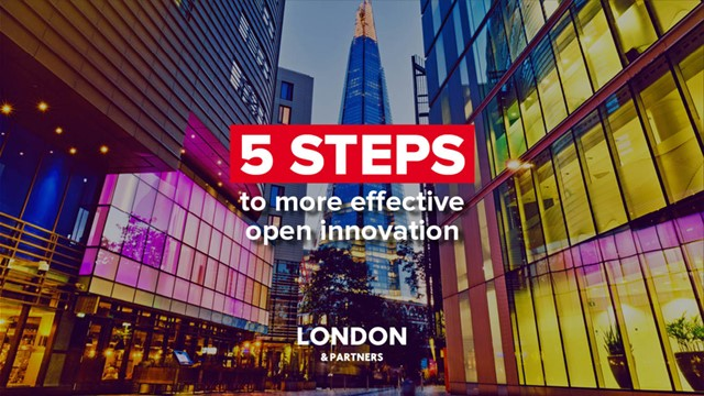 5 steps to more effective open innovation e-guide cover.