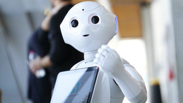 AI robot. Credit: Shutterstock/MikeDotta