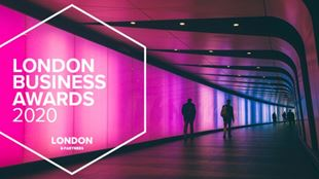 London Business Awards 2020 banner