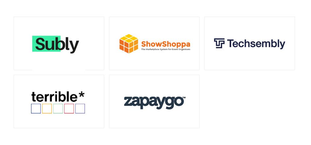 Creative Industries sector company logos.