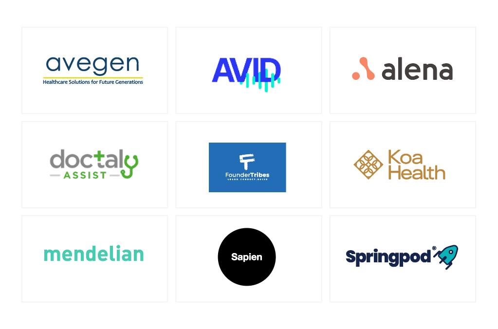 Innovation and Life Sciences company logos.