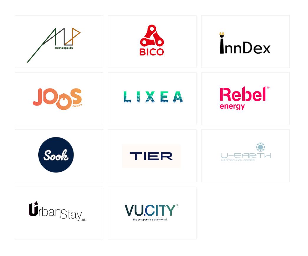 Urban sector company logos.
