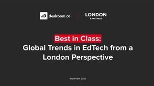 Global Trends in EdTech report cover.