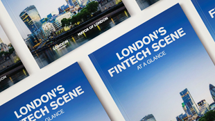 London's Fintech Scene report cover image