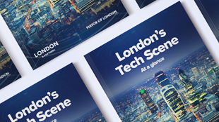 London's Tech Scene report cover image