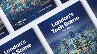 London's Tech Scene report cover image