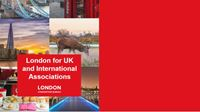 London for associations brochure cover
