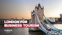 London for Business Tourism presentation cover.