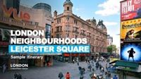 Leicester Square itinerary cover.
