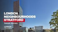 Stratford itinerary cover.
