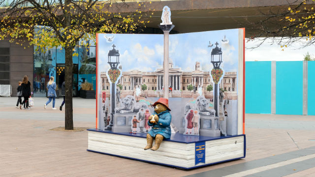 Trafalgar Square Pop-Up Book