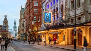 Exterior of the Noel Coward Theatre in London's West End