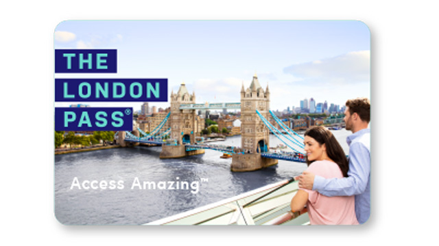 The London Pass card with image of Tower Bridge