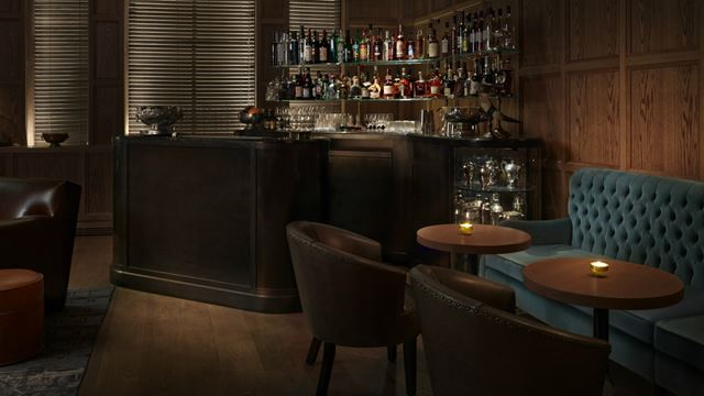 The Punch Room bar at the London Edition Hotel