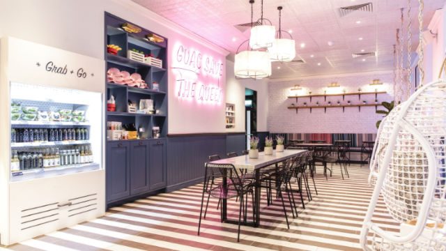 Interior of By CHLOE Covent Garden