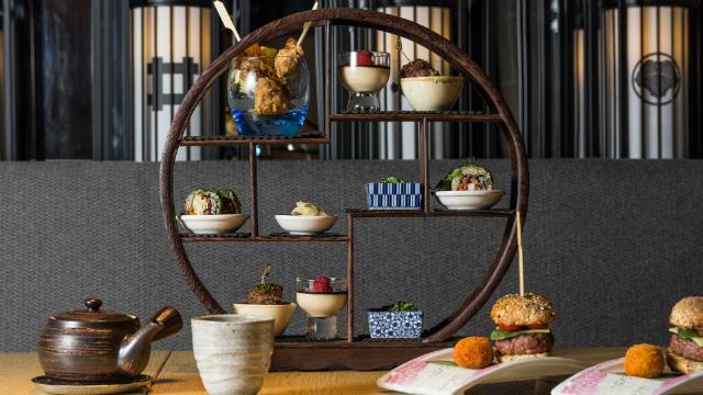 Japanese afternoon tea at Ginza Onodera