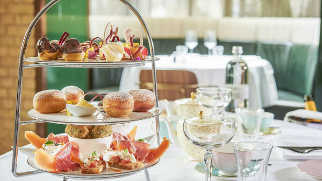 Il Pampero's Italian-themed afternoon tea. Image courtesy of The Hari