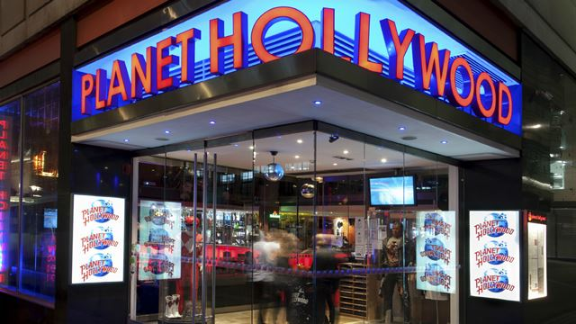 Planet Hollywood London entrance