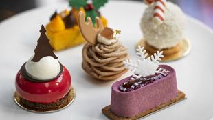 Festive afternoon tea at The Connaught