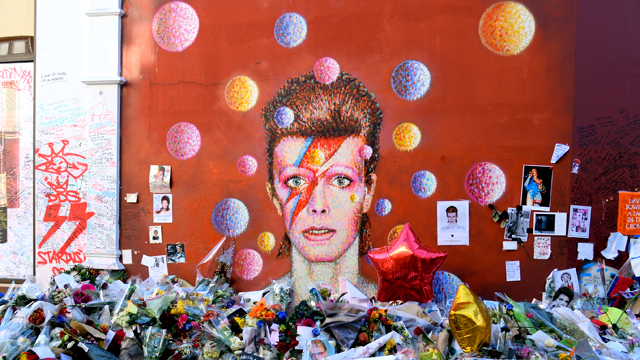 David Bowie mural in Brixton