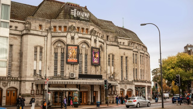 An exterior view of the Broadway Theatre in Lewisham.